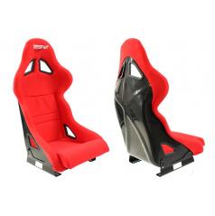 Športová pevná škrupina Bimarco Expert II červená FIA homologácia