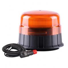 Maják výstražný 12V oranžový led (120 záblesků za minutu)
