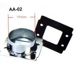 Univerzálna redukcia športového sania priemer 76 mm AA02