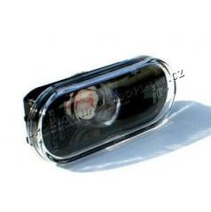 VW Passat B6 01-04 - čiré boční blinkry černé s E homologací