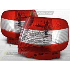 AUDI A4 (B5) 1994-00 zadné lampy RED WHITE (LTAU10)