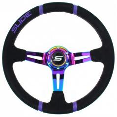 Športový volant WRC TITAN 350 mm semiš