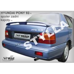 HYUNDAI PONY SEDAN (93+) spoiler zad. kapoty
