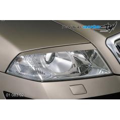Škoda Octavia II mračítka predných svetiel - pre lak