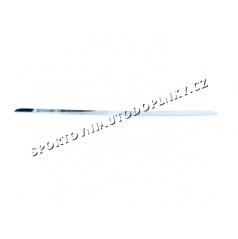 BMW E34 Touring 5.rad- nerez chróm spodná lišta zadného kufra - Omsa Line