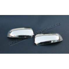 Audi A4 8E 01-08 - NEREZ chróm kryty zrkadiel OMSA LINE