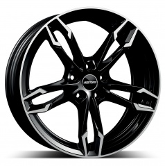 Alu koleso GMP DEA black diamond 9x19 5X112 ET44
