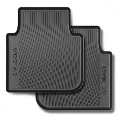 Originálne zadné koberce Škoda Kodiaq