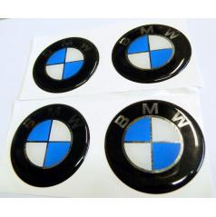 Znak BMW priemer 55 mm, 4 ks