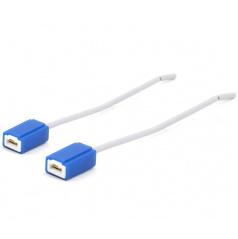 Keramická pätica H1 / 2ks - 15 cm kábel