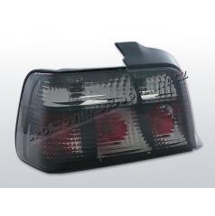 BMW E36 90-99 Zadné kryštalické lampy smoke (LTBM37) - sedan