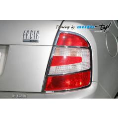 Škoda Fabia rámček zadných svetiel - chróm (r.v. od 9/2004)