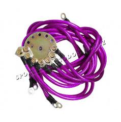 Elektrické káble pre kvalitnejšie zapojenie hudby, neónov, atď.