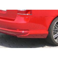 Body-Kit zadné rozšírenie nárazníka, ABS - strieborné matné, Škoda Octavia II Combi
