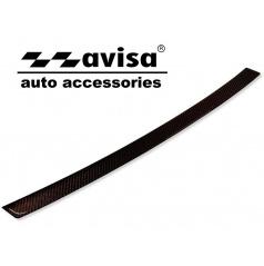 Audi A5 2009-16 karbón kryt - ochrana prahu zadného nárazníka