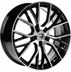 Alu koleso Tomason TN23 8,5x19 5X112 ET25 černé, leštěný top