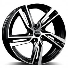 Alu koleso GMP ARCAN black diamond 7,5x17 5x114,3 ET45
