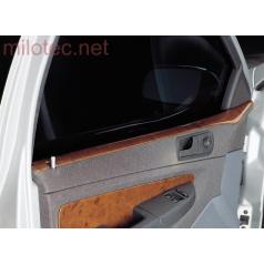 Dekor výplne dverí - horný, ABS-drevený, Škoda Fabia Combi