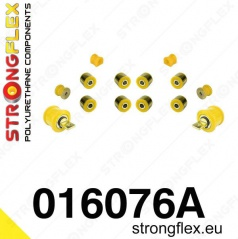 Alfa Romeo 147 Strongflex Šport zostava silentblokov len pre zadnú nápravu 12 ks