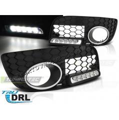 VW Golf V GTI LED denné svietenie v mriežke hmlovky black (HAVW03)