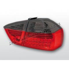 BMW E90 05-08 Zadné LED lampy, red, smoke (LDBM32)