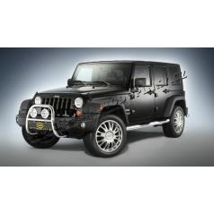 Jeep Wrangler, 2007-> přední chránič CITIGUARD 60 mm, nerez