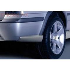 4-Road rozšírenie zadného nárazníka - ABS strieborné, Škoda Octavia Combi