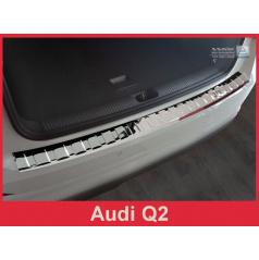 Nerez kryt- ochrana prahu zadného nárazníka Audi Q2 2016+