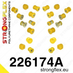 Audi TT 2007 -... Strongflex Šport kompletná zostava silentblokov 22 ks