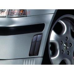 Bočné výduchy predného nárazníku, ABS-karbon, Škoda Octavia