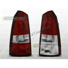 Ford Focus MK1 1998-04 kombi zadné lampy red white (LTFO11)