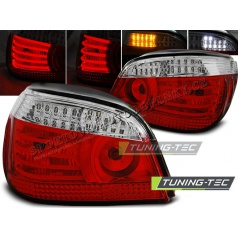 BMW E60 07.2003-07 zadné lampy red white LED (LDBM94)