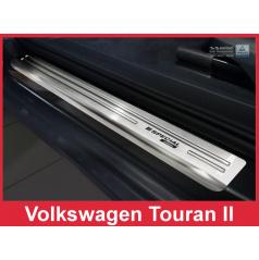 Nerez ochranné lišty prahu dveří 4ks Speciální edice Volkswagen Touran 2 2015-17