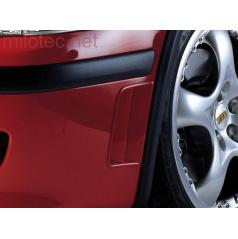 Bočné výduchy predného nárazníka, ABS-čierny, Škoda Octavia Facelift