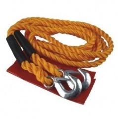 Ťažné lano 4 m do 6500 kg - kovové oká