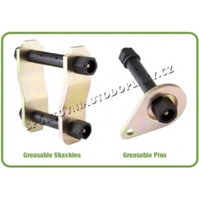 Závěs listového pera (Greasable Shackle) 1141 - 1ks