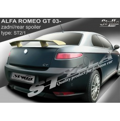 Alfa Romeo GT 2003+ zadný spoiler (EÚ homologácia)