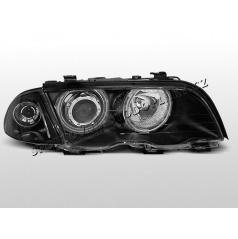 BMW E46 98-01 Angel Eyes black (LPBM66) - sedan, touring