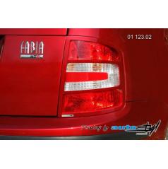 Škoda Fabia rámček zadných svetiel - combi, sedan - pre lak (r.v. od 9/2004)