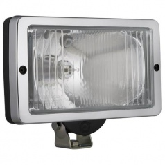 Prídavné diaľkové svetlo Wesa hranaté chróm 251 x 135 mm 1 ks