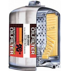 K&N Performance Gold Oil Filters HP-2008