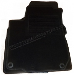 Textilní velurové autokoberce šité na míru - Nissan Almera N16, 2000-2006, 5 dveř.