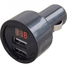 Tester batérie-digitálny + 2x adaptér USB