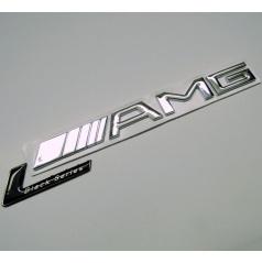 Znak chróm AMG Black Series s podlepením