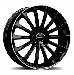 Alu koleso GMP STELLAR black 10,0x21 5x112 ET27