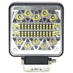 Svetlo pracovné hranaté 26 LED 110x110 mm 12-24 V