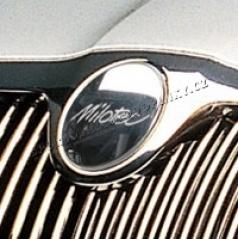 Kryt embléma Milotec - predné, Škoda Superb, Octavia II, Octavia II Facelift, Roomster, Fabia II, Yeti