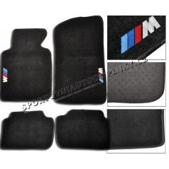 BMW rada 5 F10 luxusné textilné koberce s logom M