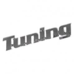 Znak -Tuning plastic- samolepiaci