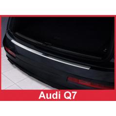 Nerez kryt- ochrana prahu zadného nárazníka Audi Q7 2006-15